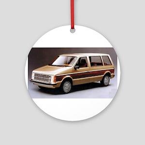 1984 Dodge Caravan Ornament (Round)