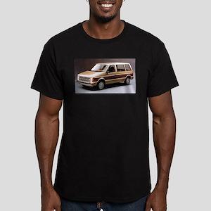 1984 Dodge Caravan Men's Fitted T-Shirt (dark)