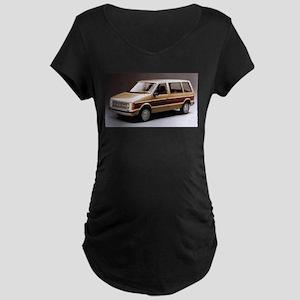 1984 Dodge Caravan Maternity Dark T-Shirt