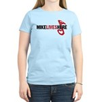 MIKE LIVES HERE Women's Light T-Shirt