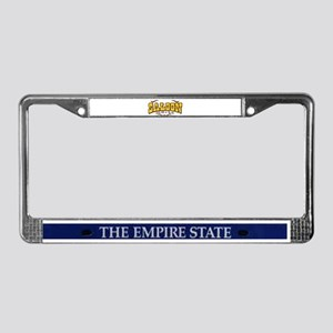 Saloon License Plate Frame