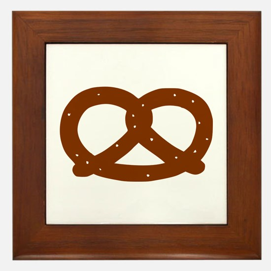 Pretzel Framed Tile