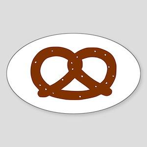 Pretzel Oval Sticker