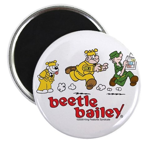 Otto, Sarge, and Beetle Chase Magnet