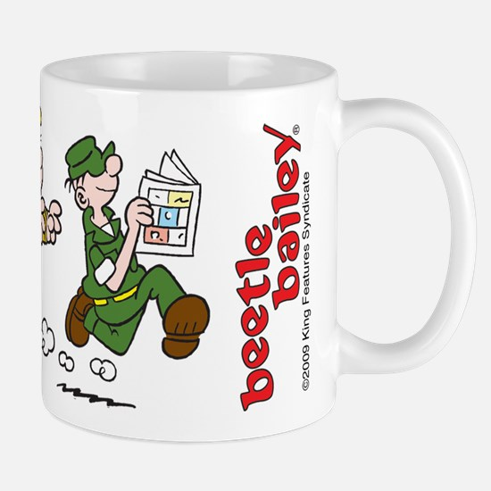 Otto, Sarge, and Beetle Chase Mug