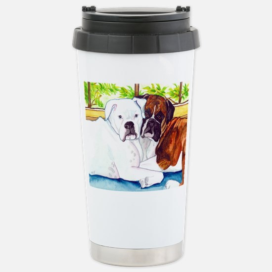 Krypta and Abbott Stainless Steel Travel Mug