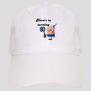 80th Birthday Cap