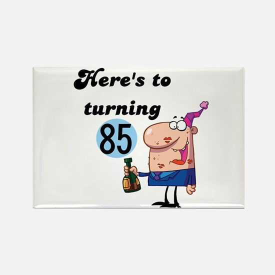 85th Birthday Rectangle Magnet
