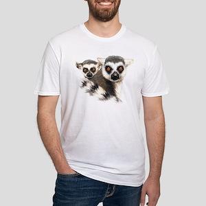 Lemurs Fitted T-Shirt