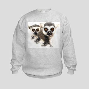 Lemurs Kids Sweatshirt