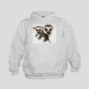 Lemurs Kids Hoodie