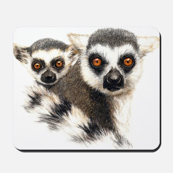 Lemurs Mousepad