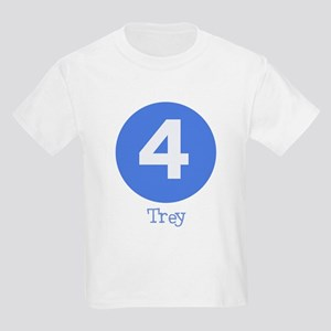 Age 4 Kids Tee - TREY
