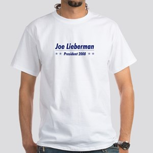 Lieberman 08 White T-Shirt