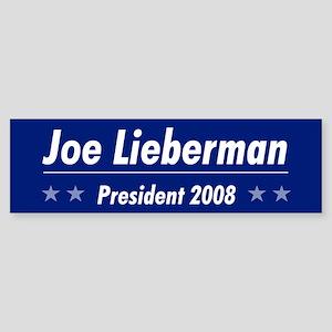 Lieberman 08 Bumper Sticker