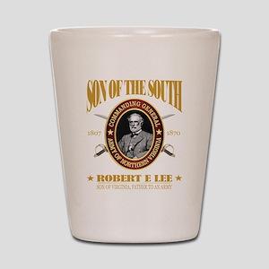 General Robert E Lee Shot Glass