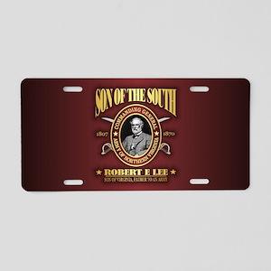 General Robert E Lee Aluminum License Plate
