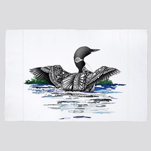 Loon with Style 4' x 6' Rug