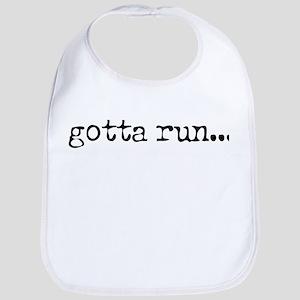 gotta run Bib