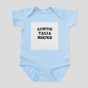 AUNTIE TALIA ROCKS Infant Creeper