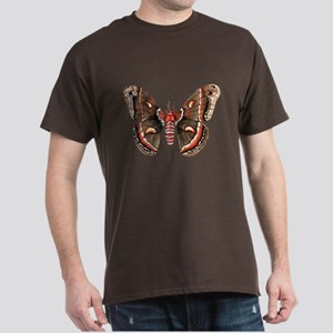 Cecropia Moth Dark T-Shirt