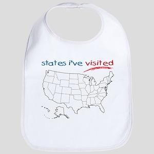 States I've Visited Bib