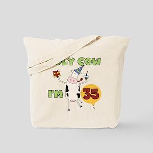 Cow 35th Birthday Tote Bag