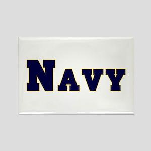 """Navy Blue"" Rectangle Magnet"