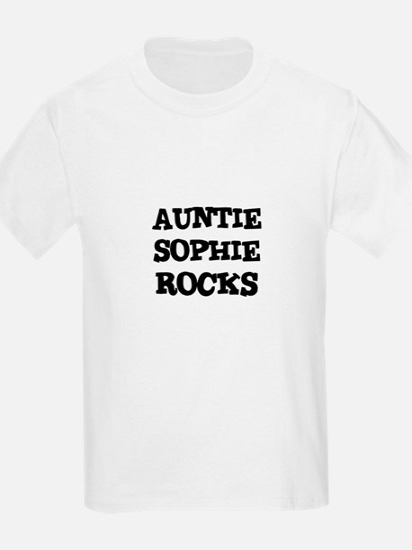 AUNTIE SOPHIE ROCKS Kids T-Shirt
