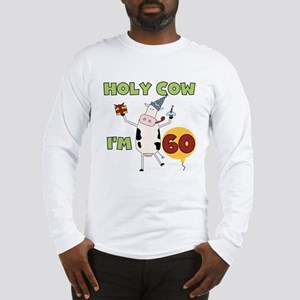 Cow 60th Birthday Long Sleeve T-Shirt