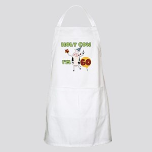 Cow 60th Birthday BBQ Apron