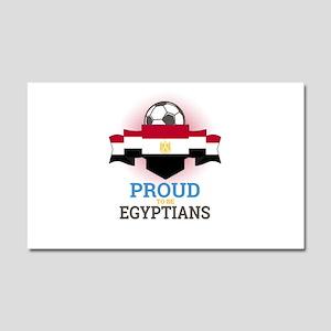 Football Egyptians Egypt Soccer Car Magnet 20 x 12