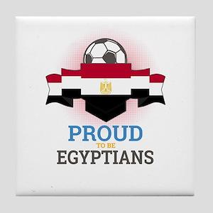 Football Egyptians Egypt Soccer Team Tile Coaster