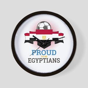 Football Egyptians Egypt Soccer Team Sp Wall Clock