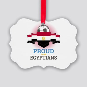 Football Egyptians Egypt Soccer T Picture Ornament