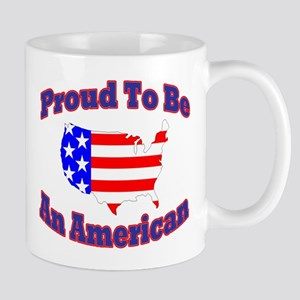 T-Shsirt Proud American Mugs