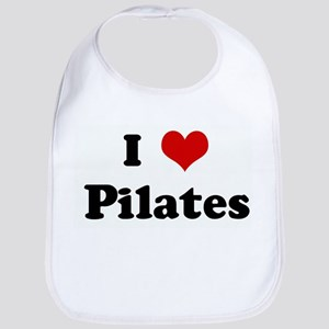 I Love Pilates Bib