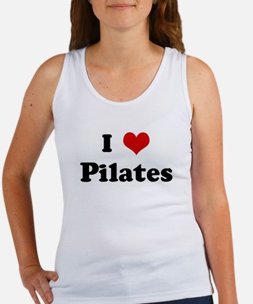 I Love Pilates Women's Tank Top