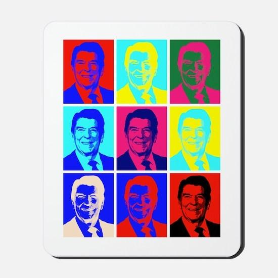 Reagan Portraits Mousepad