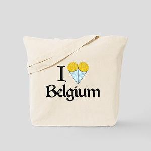 I Love Belgium (Fries) Tote Bag