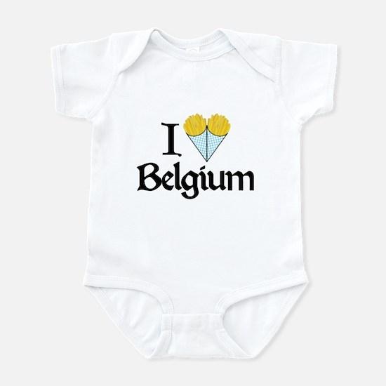 I Love Belgium (Fries) Infant Bodysuit