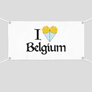 I Love Belgium (Fries) Banner