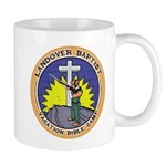 Bible Gun Camp Mug