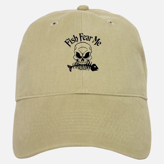 Fish Fear Me Skull Cap