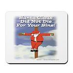 Santa Cross Mousepad