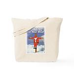 Santa Cross Tote Bag