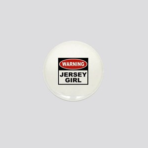 Jersey Girl Mini Button