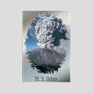 Mt. St. Helens Rectangle Magnet