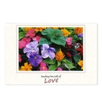 Colorful Flower Pot Postcards (Package of 8)