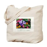 Colorful Flower Pot Tote Bag